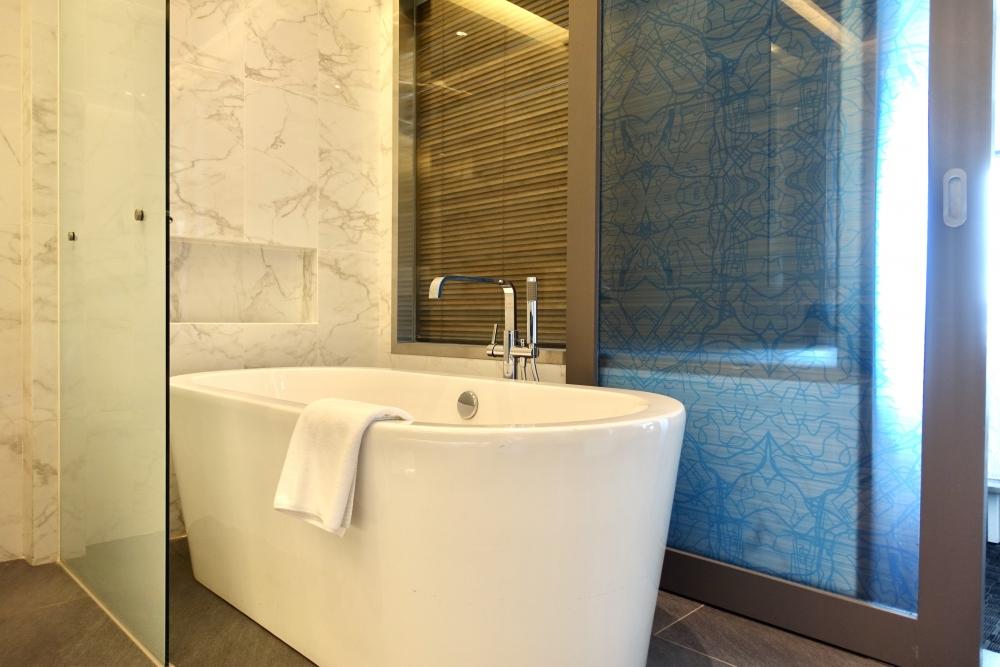 ル・メリディアンクアラルンプール/メリディアンスイート浴槽
