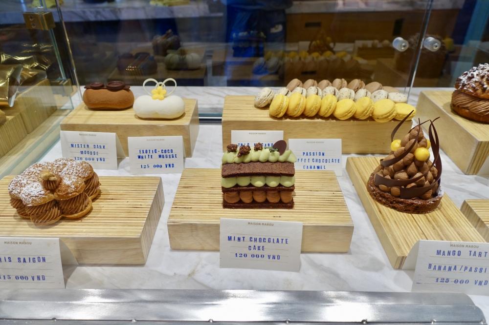 メゾンマルゥホーチミン店の生ケーキ